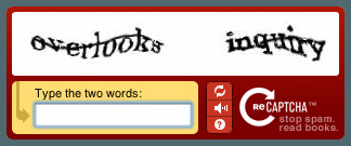Text Based Recognition Captcha